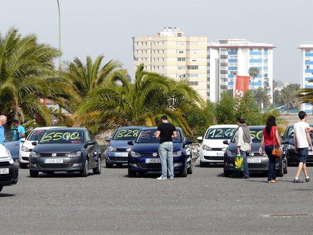 Feria de vehículos de ocasión. / DA