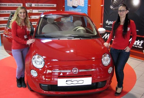 Fiat 500 Media Markt