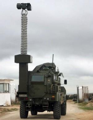 Imagen de una torre de visión a distancia Gecko-C. / defensa.com