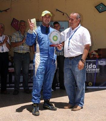 Juan Carlos Rodriguez y José Benito Rodríguez (Citröen Saxo) ganadores del Trofeo BP Ultimate 2013