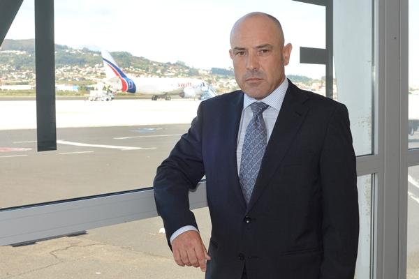 El director regional de aeropuertos de Canarias, Mario Otero. | S. MÉNDEZ