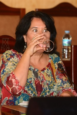 Mayca Coello no sacó adelante el rescate del agua. | NORCHI