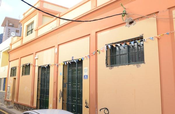 La sede de la ONG se encuentra ubicada en el barrio de Valleseco. | S. M.