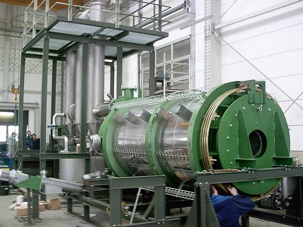 Imagen de una planta de reciclaje de la empresa británica O2E Technologies. / DA