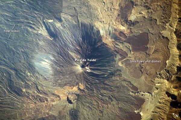 El Pico del Teide, una de las imágenes favoritas de la NASA de Canarias. | NASA