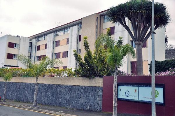 La residencia Quesada Sánchez acoge actualmente a 50 usuarios. / DA