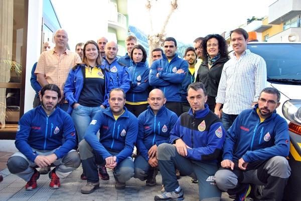 20 alumnos de AEA Emergencias recibieron clases teóricas y prácticas. / DA