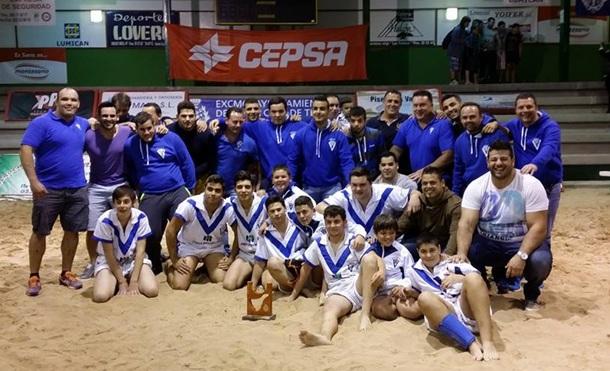 Tegueste cadete campeón Liga Cabildo Insular de Tenerife