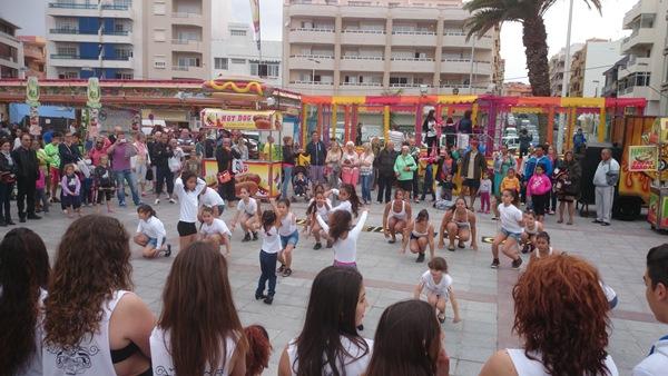 La VIII edición de la Feria del Saldo se amplió hasta ayer lunes en la plaza de El Médano. | DA