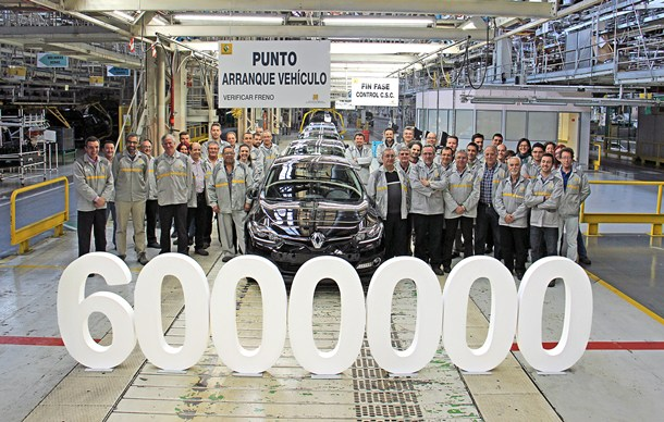 Vehiculo 6 millones Renault Palencia