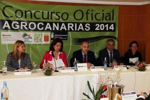 Imagen del momento de la presentación de Agrocanarias. / DA