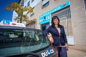 Dulce Carrillo tiene todos los permisos de conducción desde los 21 años. / DA