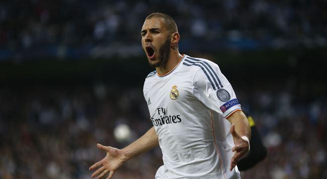 Benzema consiguió el gol local / REUTERS