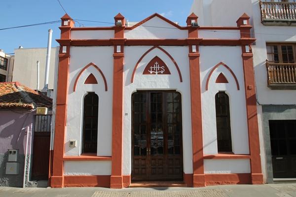 Fachada de la capilla del Calvario, en La Ranilla. | DA