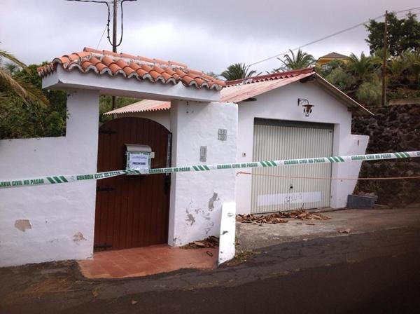Imagen de la vivienda donde acaeció el siniestro. | JUAN ARTURO (NOVAFOTO)