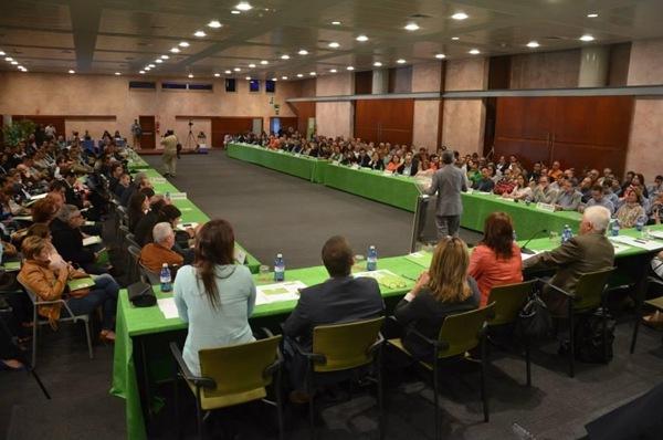 Detalle de la convención nacional de NC, celebrada el sábado en Las Palmas de Gran Canaria. | DA