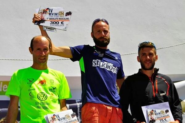 El corredor de la Isla Bonita se subió a lo más alto del cajón de la prueba de El Paso. / facebook