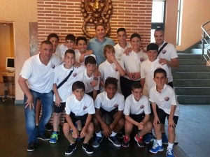 El equipo infantil de primer año del Reale Juventud Laguna realizó un gran torneo. / DA