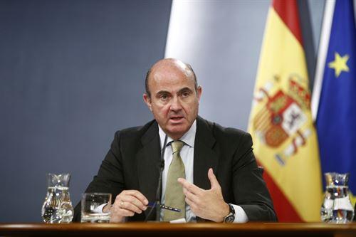 Luis de Guindos, ministro de Economía y Competitividad. | DA