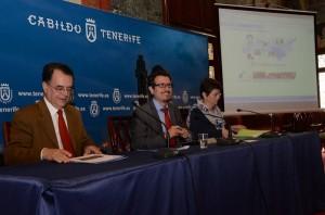 José Fernández, Jesús Morales y Isabel Farrugia, ayer en la rueda de prensa. / DA