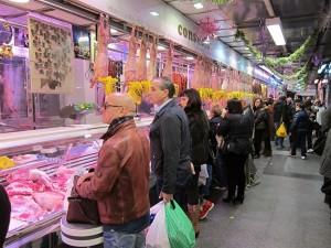 Imagen de uno de los puestos de un mercado. / EP