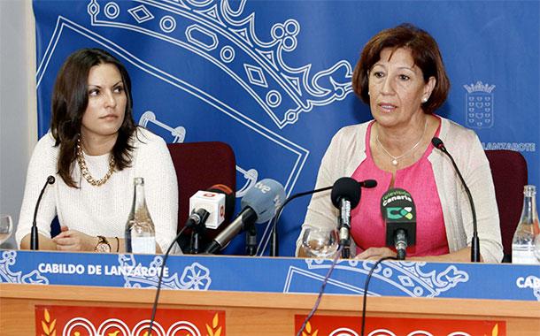 Migdalia Machín e Inés Rojas