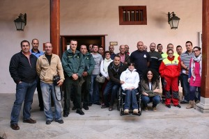 La reunión de seguridad tuvo lugar en el Convento Franciscano. / DA