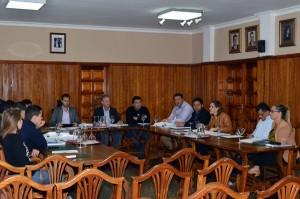 El Pleno municipal aprobó el presupuesto para este año con el voto en contra de los socialistas. / DA