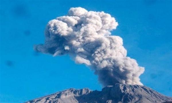 Erupción del volcán Ubinas