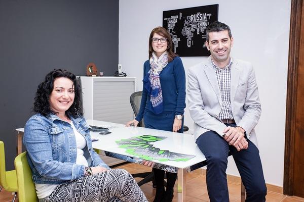 De izquierda a derecha, el personal de Borealis: Ana Dorta, Nuria Pérez y Leonardo Dorta. / DA