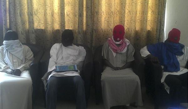 Miembros del grupo islamista Boko Haram. | REUTERS