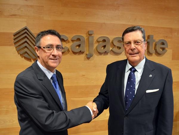 Presidentes entrante y saliente, Fernando Berge y Jerónimo Monje. / DA