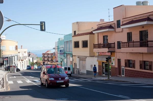 Panorámica del santacrucero barrio El Sobradillo, en el Distrito Suroeste. / FRAN PALLERO