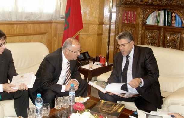 Francisco Hernández Spínola y Mustapha Ramid