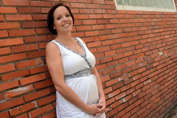 La responsable de la firma Sanpani, Gabriela Brieba Plata. / SERGIO MÉNDEZ