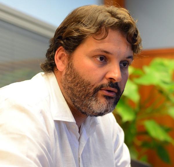 José Ángel Martín es concejal de Urbanismo de Santa Cruz. / S. MÉNDEZ