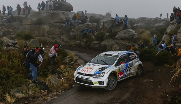 Jari-Matti Latvala Volkswagen Polo R WRC Argentina
