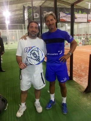Javi Silva y Gustavo Davirro ya están en semifinales. | J.S.S.