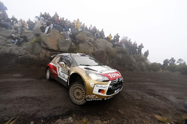 Kris Meeke Citroën Rally Argentina