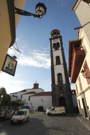 Iglesia de La Concepción, en la zona de La Noria. | JAVIER GANIVET