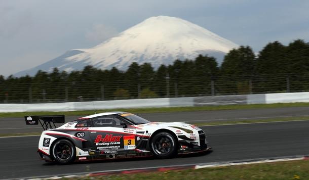 Lucas Ordoñez en Fuji Nissan GTR