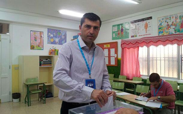 Manuel Domínguez PP Elecciones 25M