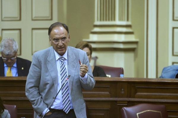 Manuel Fajardo Palarea, portavoz del grupo parlamentario socialista. | DA