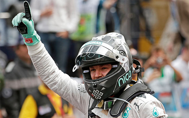 Nico Rosberg Monaco 2014