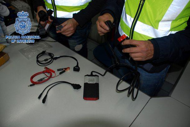 Policía Nacional - Operacion Avería