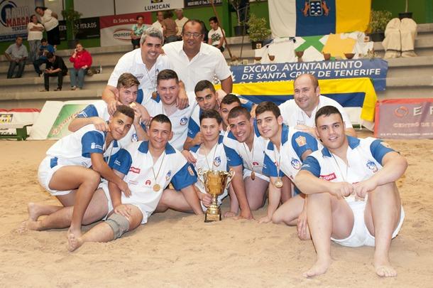 Tenerife campeon Torneo Alfredo Martin El Palmero