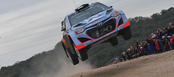 Thierry Neuville Hyundai i20