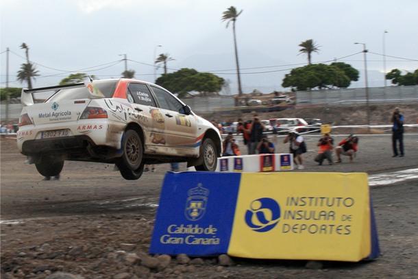 Tramo Espectáculo Rally Gran Canaria 2013