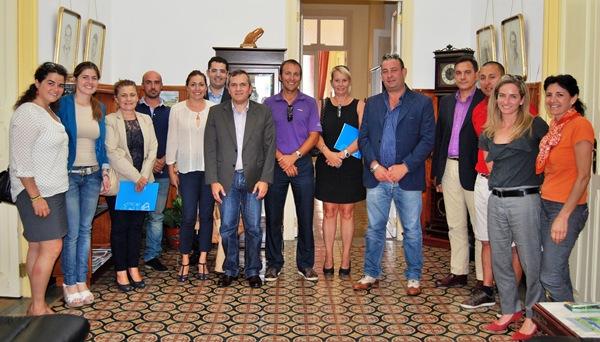 Autoridades locales y empresarios abordaron el Plan de Modernización del sector turístico. / DA