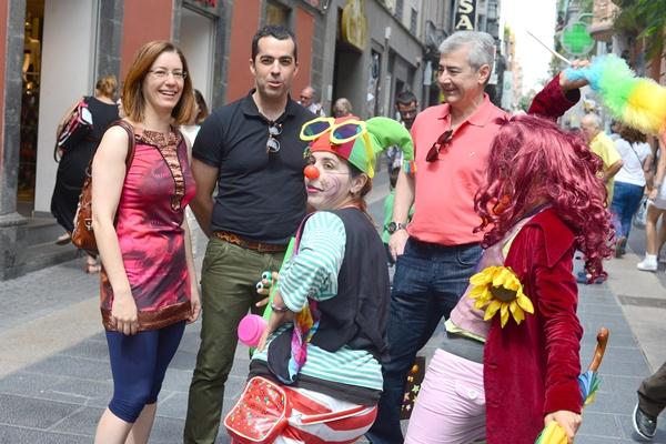 Florentino Guzmán se mostró satisfecho con la respuesta de los ciudadanos. | S.M.
